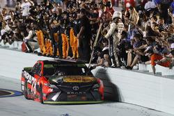 Martin Truex Jr., Furniture Row Racing Toyota team celebration
