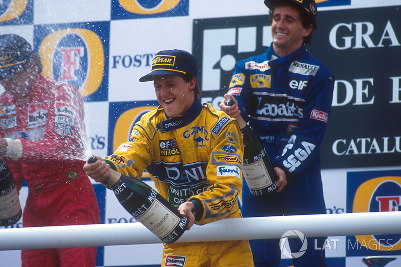 Podyum: 3. Michael Schumacher, Benetton