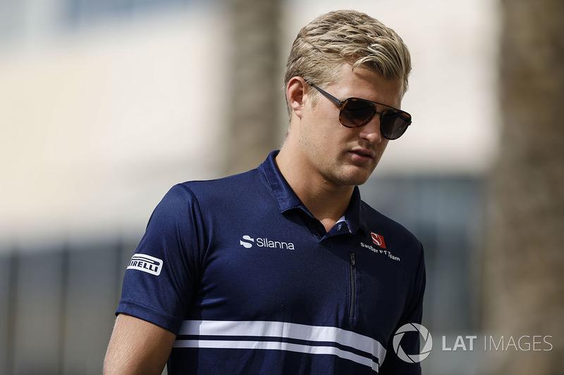 Sauber - Marcus Ericsson (Confirmado)