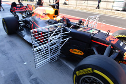 Max Verstappen, Red Bull Racing RB13, aero sensors