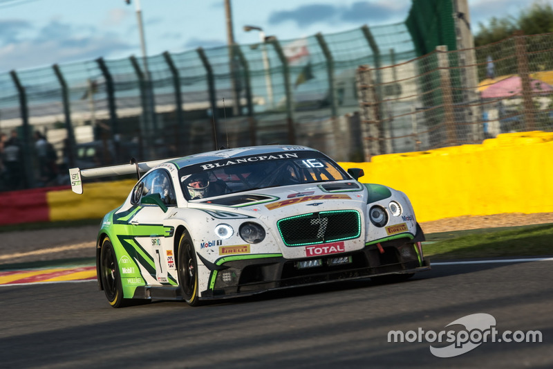 14. #7 Bentley Team M-Sport, Bentley Continental GT3