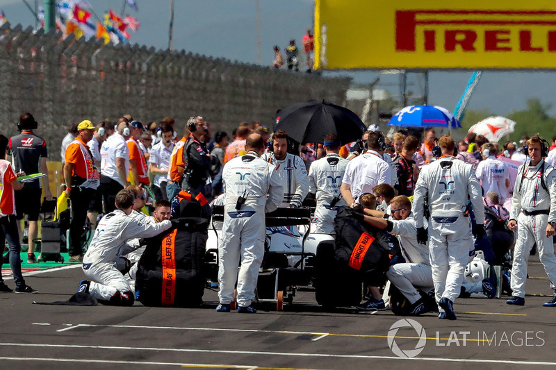 Coche de Paul di Resta, Williams FW40