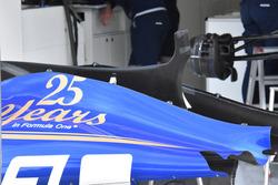 Capot moteur de la Sauber C36