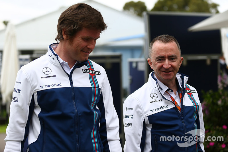 Rob Smedley, Williams, mit Paddy Lowe, Williams-Technikchef