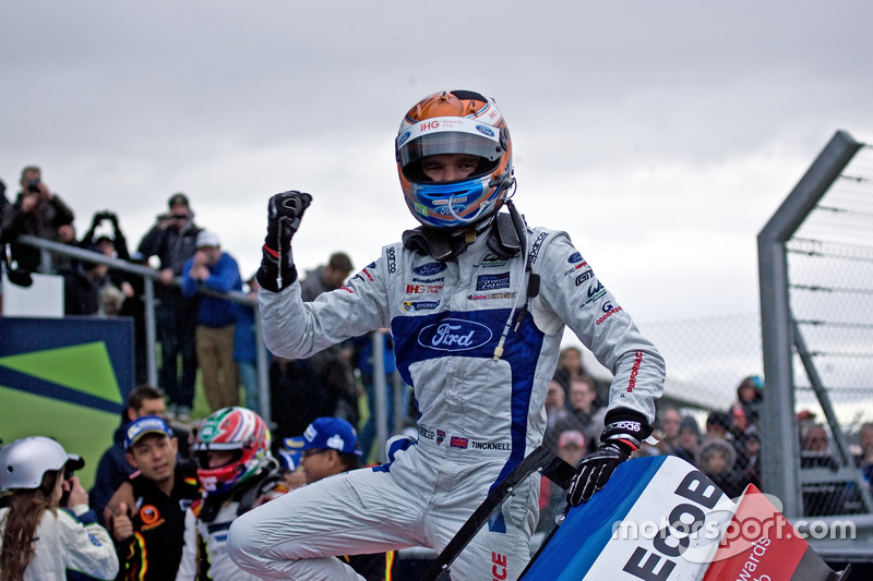 Harry Tincknell, Ford Chip Ganassi Racing in parc ferme