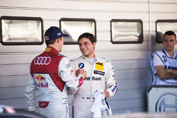 Маттіас Екстрьом, Audi Sport Team Abt Sportsline, Audi A5 DTM, та Бруно Спенглер, BMW Team RBM, BMW