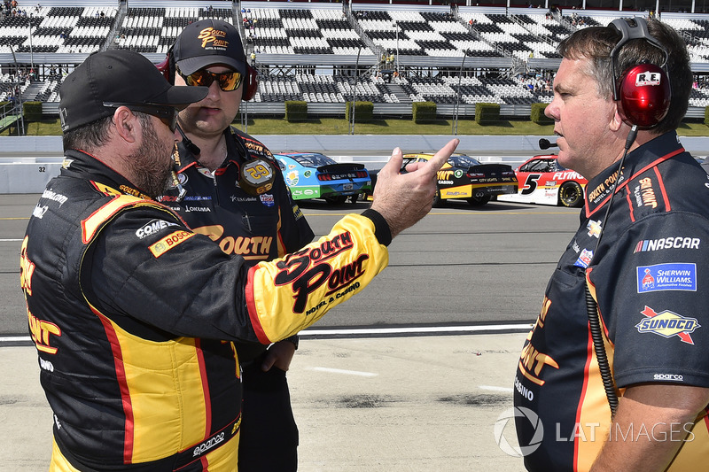Brendan Gaughan, Richard Childress Racing Chevrolet, mit Shane Wilson