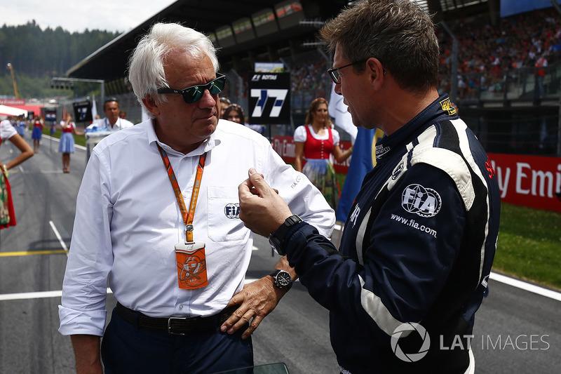 Charlie Whiting, FIA Yarış Direktörü