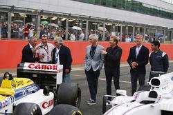 Riccardo Patrese, Nigel Mansell, Keke Rosberg, Damon Hill, Nico Rosberg, David Coulthard, Karun Chandhok