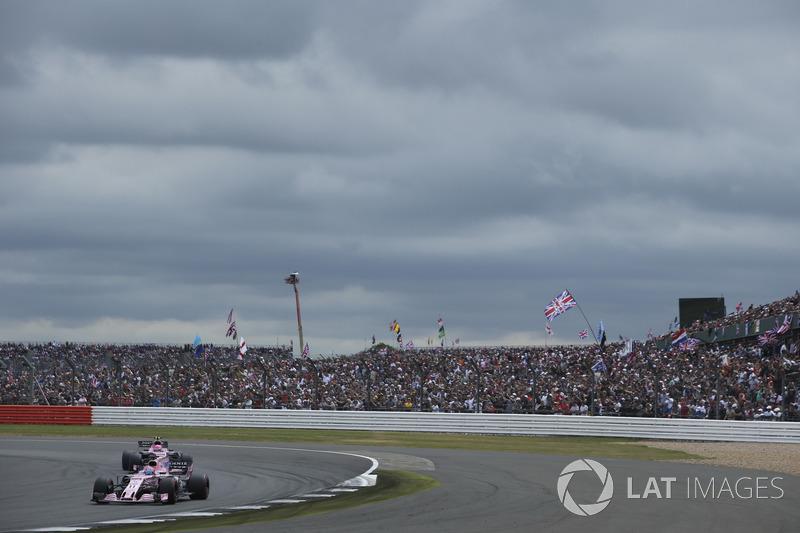Серхіо Перес, Естебан Окон, Sahara Force India F1 VJM10