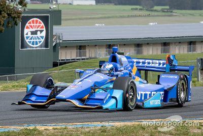 IndyCar-Test in Sonoma, April