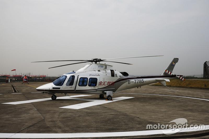 Медичний гелікоптер Augusta-Westland AW109SP