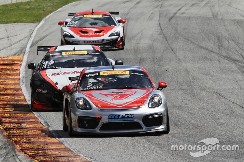 #3 Flying Lizard Motorsports Porsche Cayman GT4 Clubsport MR: Rodrigo Baptista