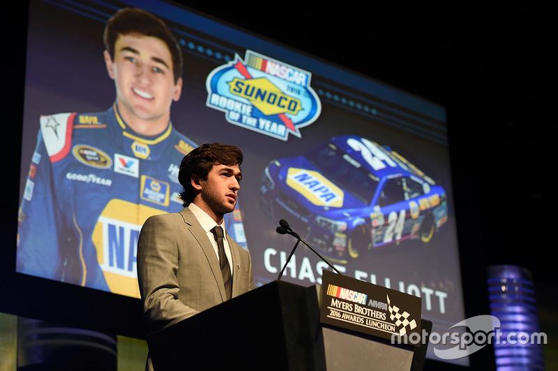 Novato del Año Chase Elliott, Hendrick Motorsports Chevrolet