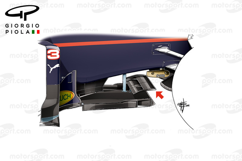Red Bull RB12 T Tray splitter
