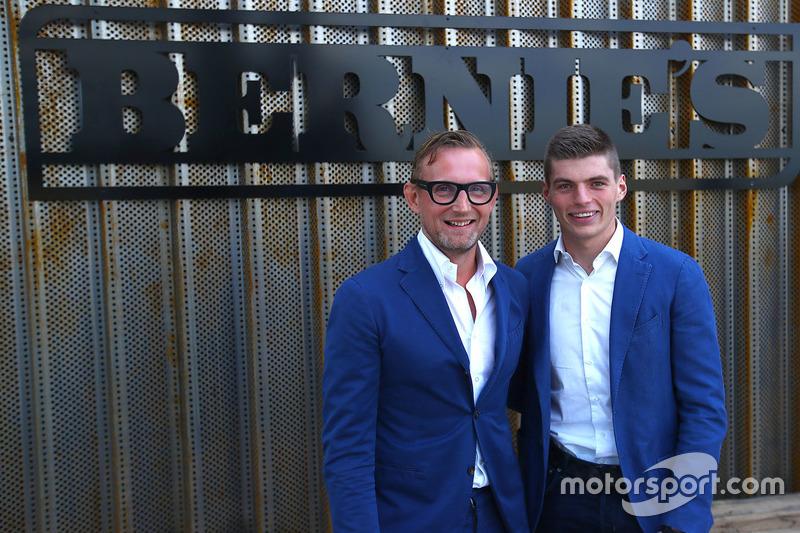 Співвласник траси Зандворт Бернард ван Ораньє, Макс Ферстаппен, Red Bull Racing