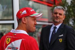 Себастьян Феттель, Ferrari, Мауріціо Аррівабене, керівник команди Ferrari