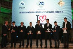 La premiazione dei Campioni dell'Automobilismo 2016