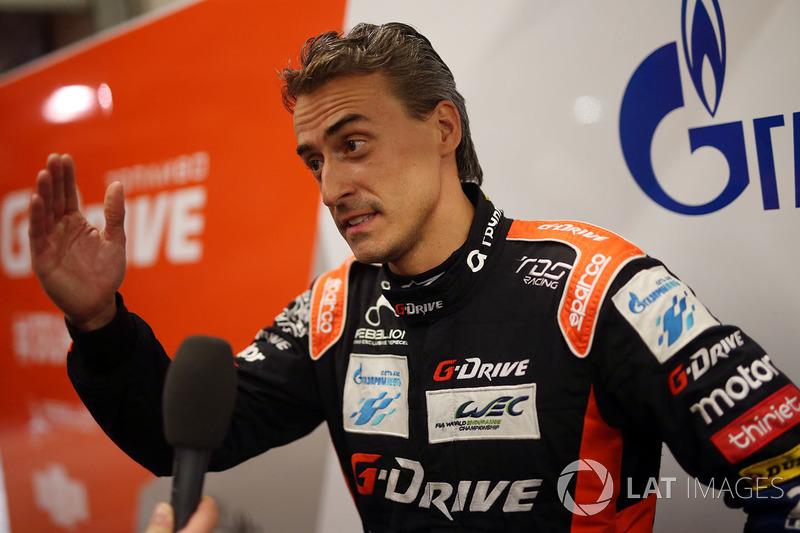 Роман Русинов (G-Drive Racing, LMP2) – сход