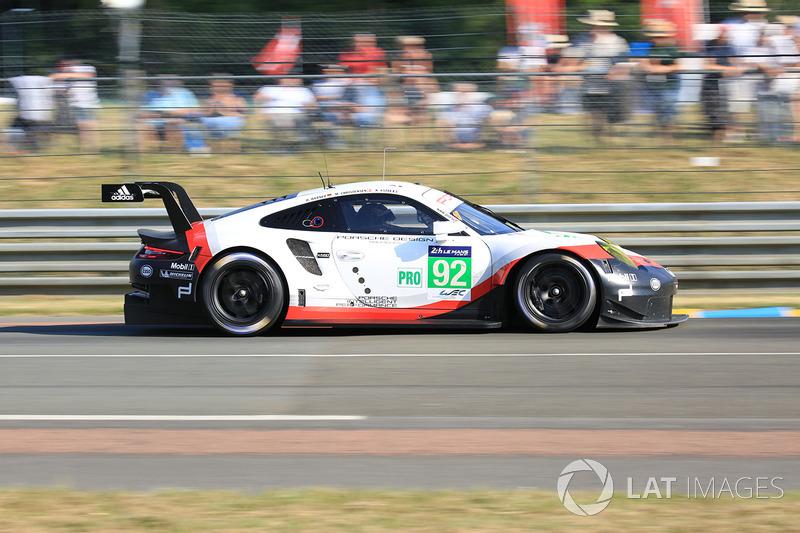 4. LMGTE-Pro: #92 Porsche Team, Porsche 911 RSR
