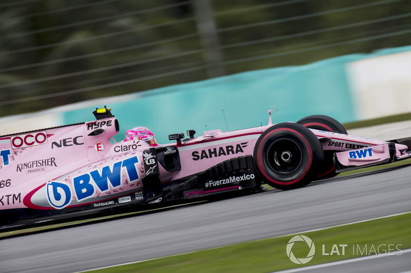 10. Esteban Ocon, Sahara Force India F1 VJM10