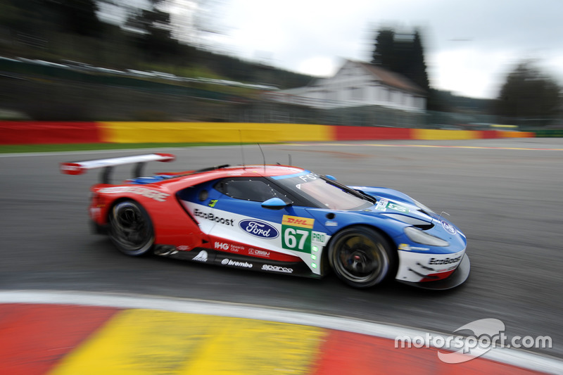 3. GTE-Pro: #67 Ford Chip Ganassi Racing, Ford GT