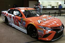 Car of Daniel Suarez, Joe Gibbs Racing Toyota