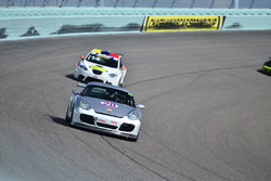 #28 MP2B Porsche Cayman driven by Ira Rosner & Drew Altman of RA Racing