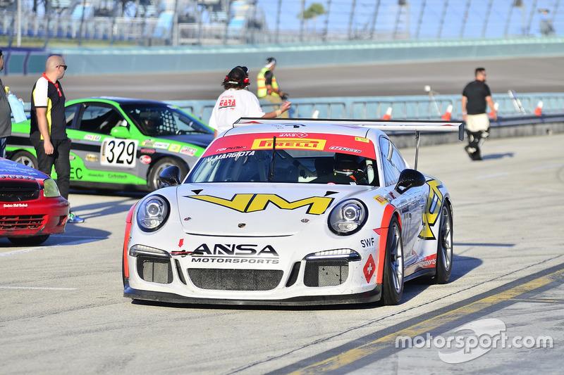 #277 MP1A Porsche GT3 Cup driven by Vinicius Margiota of BRT