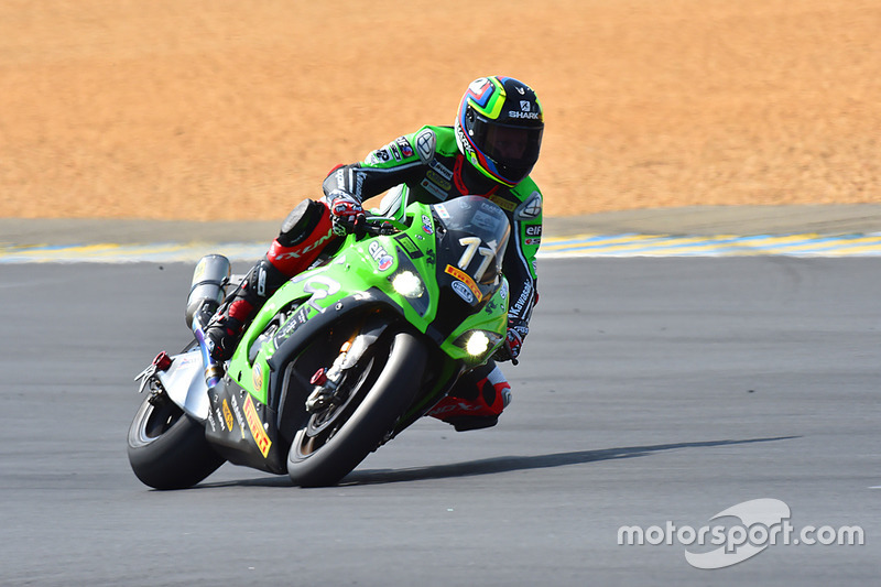 #11 Kawasaki: Morgan Berchet, Randy de Puniet