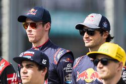 Daniil Kvyat, Scuderia Toro Rosso y Carlos Sainz Jr., Scuderia Toro Rosso