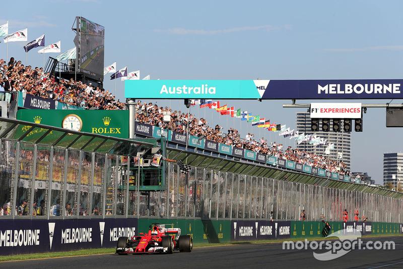 Sebastian Vettel, Ferrari, SF70H