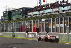 Sebastian Vettel, Ferrari SF70H l'emporte