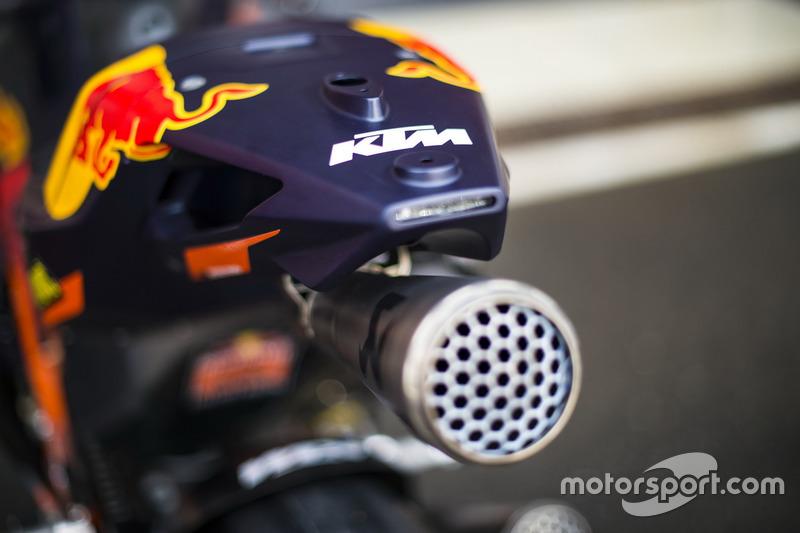 Detail: KTM RC16, Red Bull KTM Factory Racing