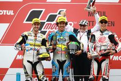 Podium: 1. Franco Morbidelli, Marc VDS; 2. Thomas Luthi, CarXpert Interwetten; 3. Takaaki Nakagami, Idemitsu Honda Team Asia
