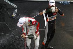 Rookie Podium: Jehan Daruvala, Carlin, Dallara F317 - Volkswagen, Mick Schumacher, Prema Powerteam, Dallara F317 - Mercedes-Benz