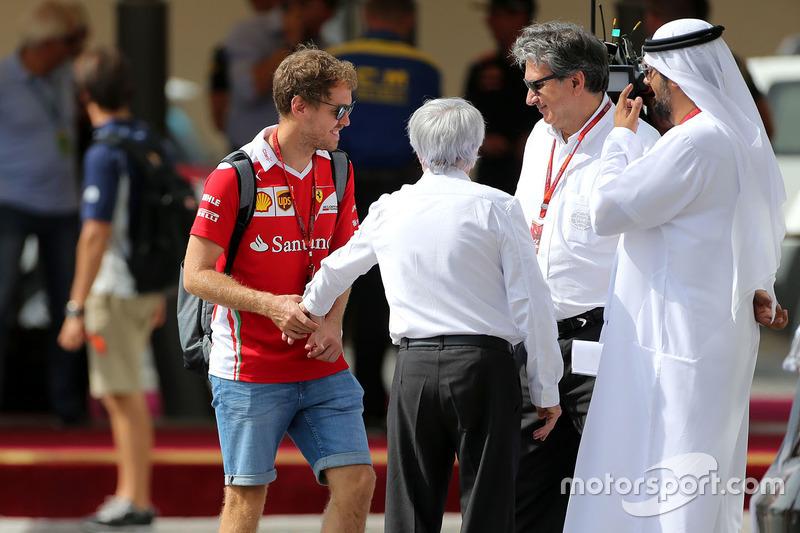 Sebastian Vettel, Scuderia Ferrari und Bernie Eccelstone