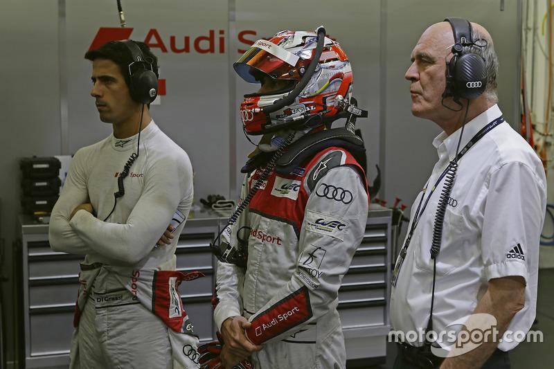Lucas di Grassi, Loïc Duval, Audi Sport Team Joest, Dr. Wolfgang Ullrich