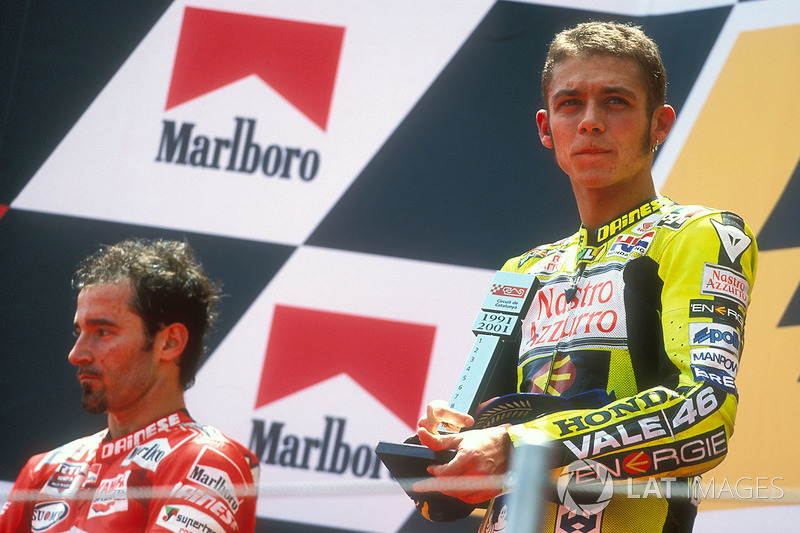 Barcelona 2001: golpes antes de la entrega de premios.