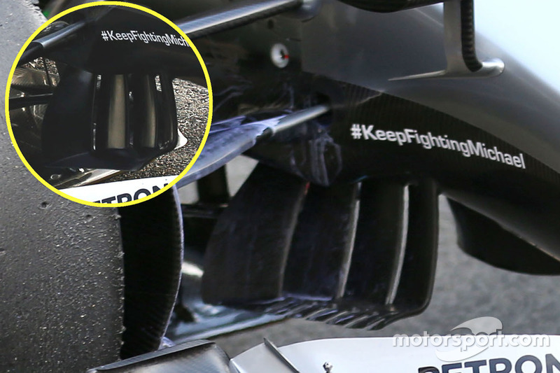 Detail, Mercedes AMG F1 W07