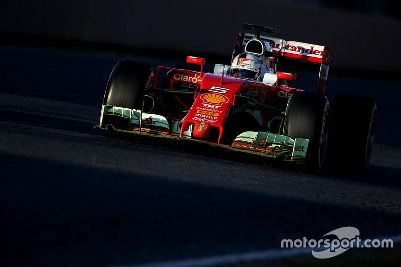 3. Sebastian Vettel, Scuderia Ferrari