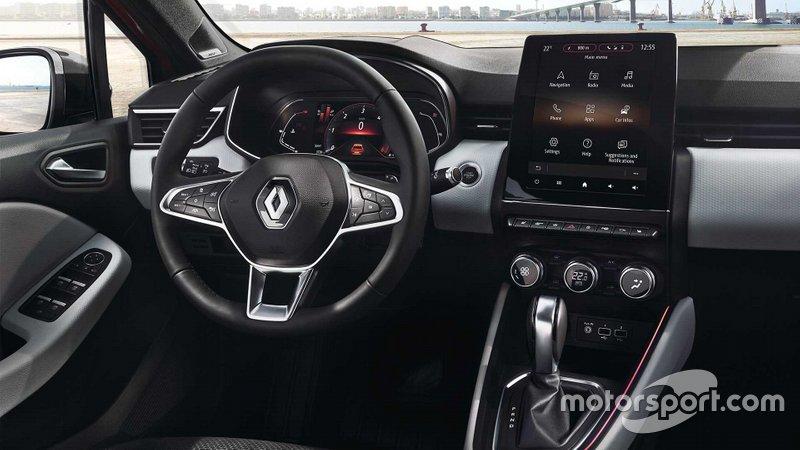 Інтер'єр Renault Clio 2019 року