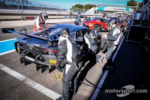 Test di marzo del Blancpain GT