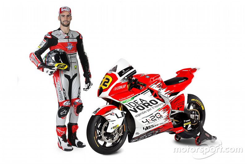 #62 Stefano Manzi, MV Agusta Forward Racing