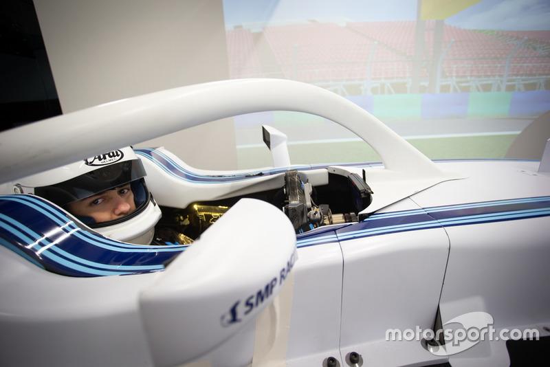 Álvaro Carretón, Williams eSports en el simulador de Williams F1