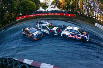 Mattias Ekström, EKS Audi Sport, Janis Baumanis, STARD, Niclas Gronholm, GRX Taneco