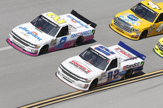 Austin Hill, Young's Motorsports, Chevrolet Silverado Young's Building Systems/Randco Spencer Gallagher, GMS Racing, Chevrolet Silverado Allegiant