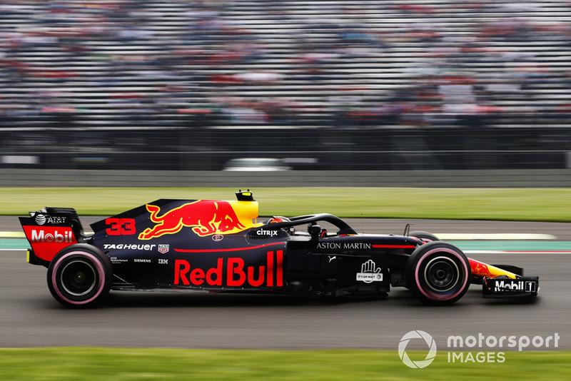 2: Max Verstappen, Red Bull Racing RB14, 1:14.785