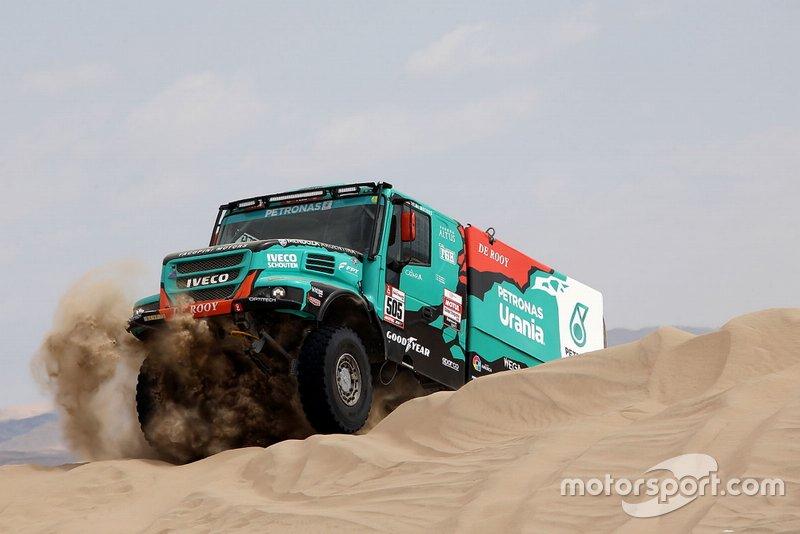 #505 Team De Rooy Iveco: Федеріко Вільягра, Рікардо Торлаші, Адріан Якопіні
