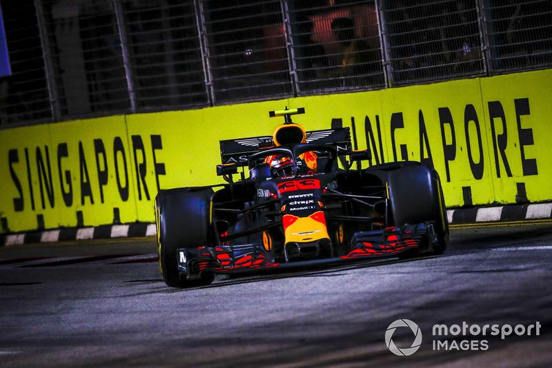 Singapore: Max Verstappen